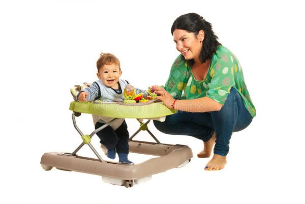 Baby walkers for and against Safety rules