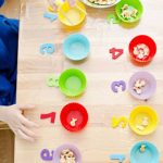 Activities for developing logic and mathematics for 2-years-olds