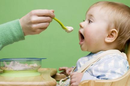 Baby feeding chart